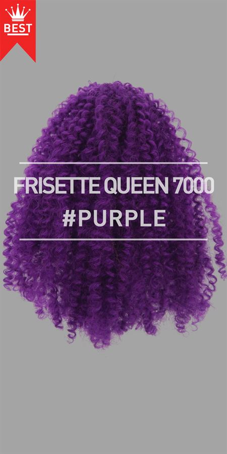 REF #BXX1RD - FRISETTE QUEEN 7000 (#PURPLE)